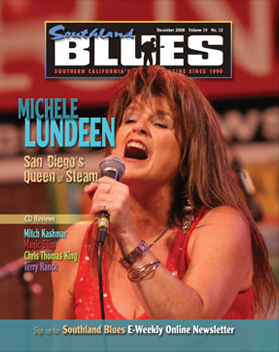 COVER & FEATURE OF SOUTHLAND BLUES DEC 08